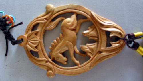 木工雕刻样品